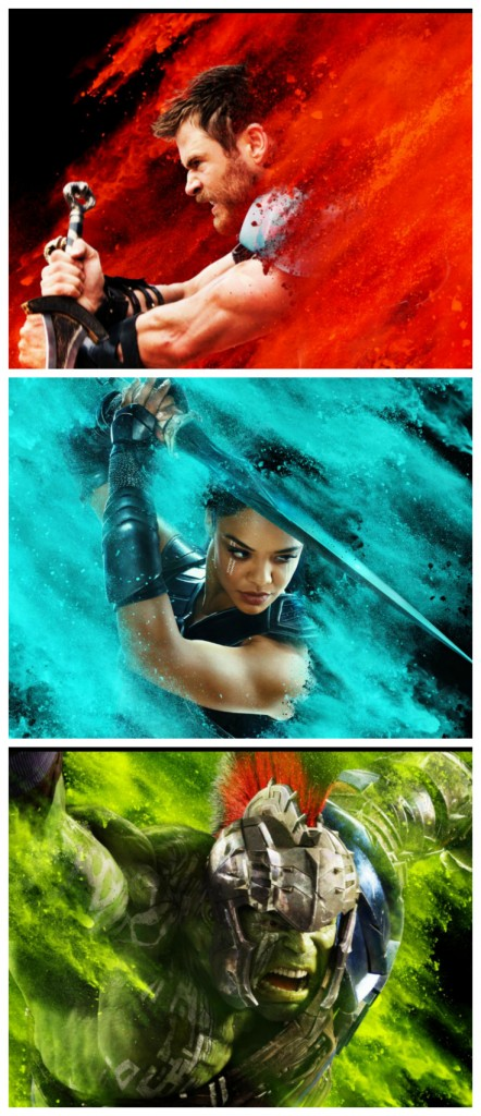 New Marvel Thor: Ragnarok Posters