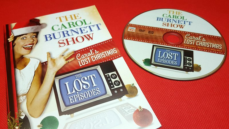 The Carol Burnett Show Christmas DVD