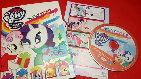 My Little Pony: Holiday Hearts DVD