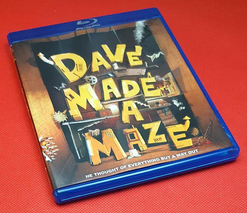 Dave Made A Maze Blu-ray