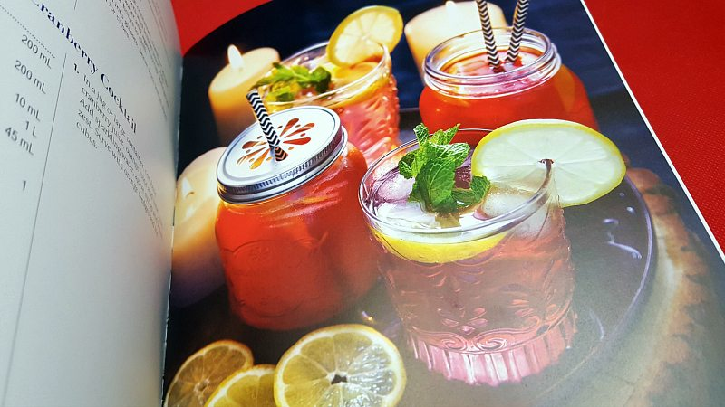 Drinks from the Vegan Holiday Cookbook