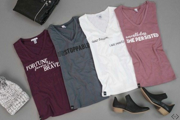 Empowerment t-shirts cents of style