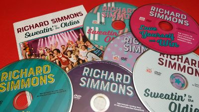 Richard Simmons Sweatin' To The Oldies DVD Collection