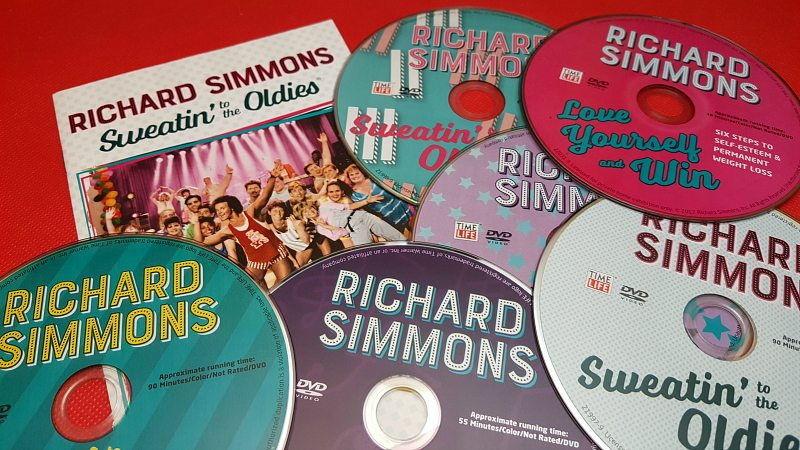 Richard Simmons DVD Collection