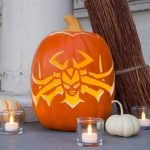 Free Thor: Ragnarok Printable Halloween Pumpkin Stencil