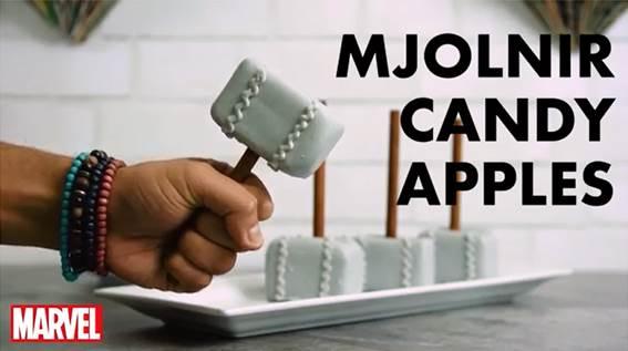 Mjolnir Candy Apples