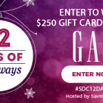 $250 Gap Gift Card Giveaway