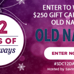 $250 Old Navy Gift Card Giveaway