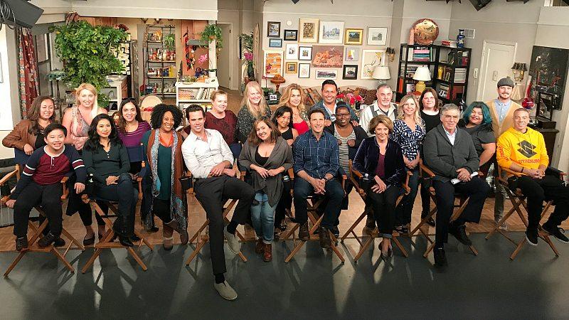 9JKL Set Visit with Cast