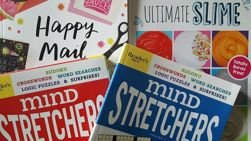 Activity Books Holiday Gift Guide