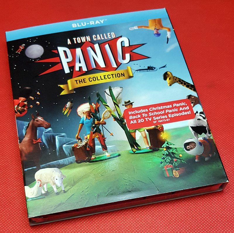 Town Called Panic with Christmas Panic blu-ray