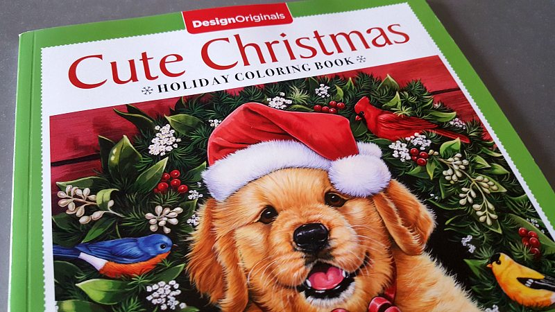 Cute Christmas Coloring Book