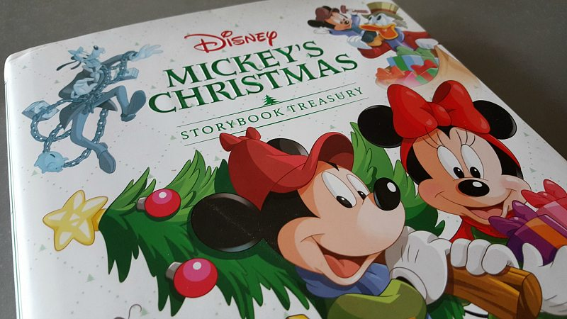 Disney Mickey's Christmas Storybook Treasury
