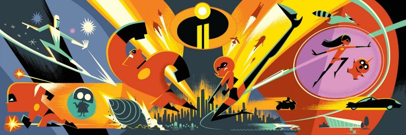 Disney Pixar Incredibles 2 Concept Art
