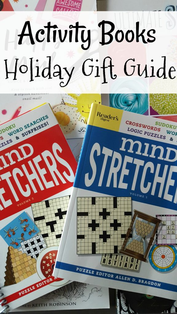 Holiday Gift Guide Activity Books for Kids and Adults