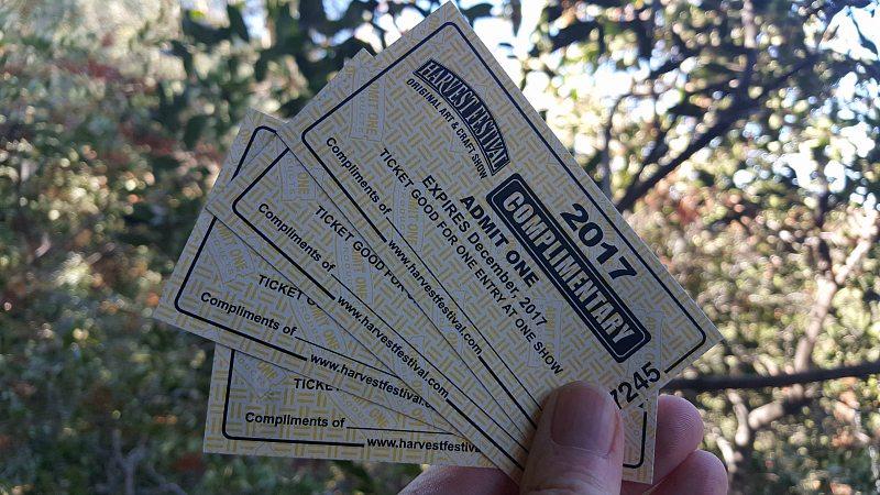 Pomona Harvest Festival Tickets