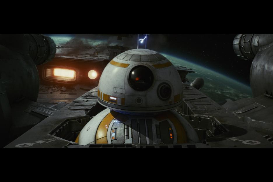 The Last Jedi BB8