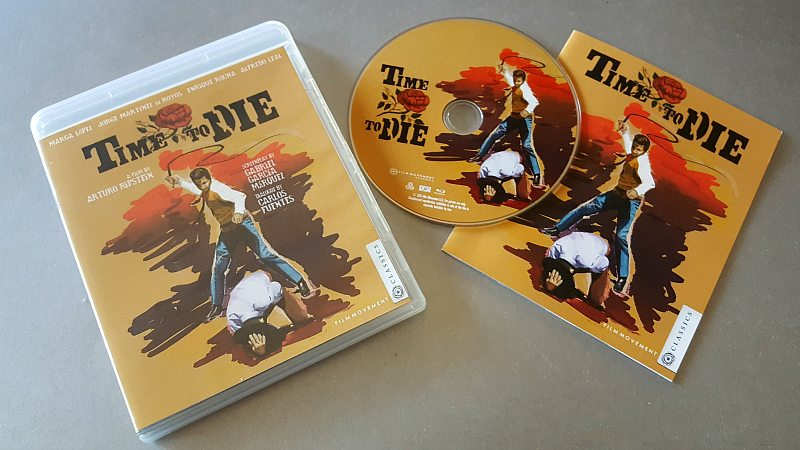 Time to Die Movie Blu-ray