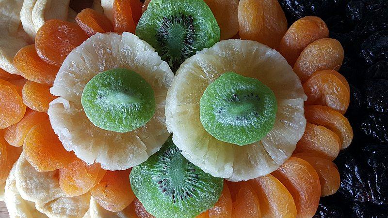 dried fruit assortment