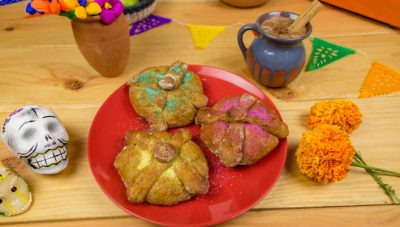 Disney Pan de Muerto Bread Recipe