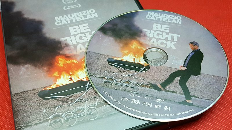 Maurizio Cattelan Be Right Back DVD
