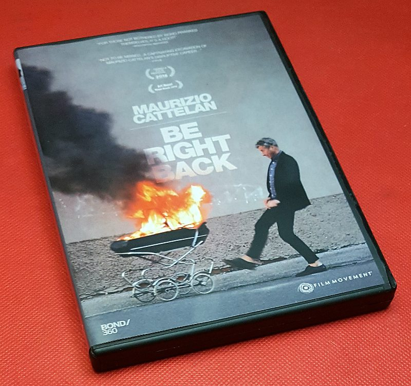 Maurizio Cattelan dvd movie