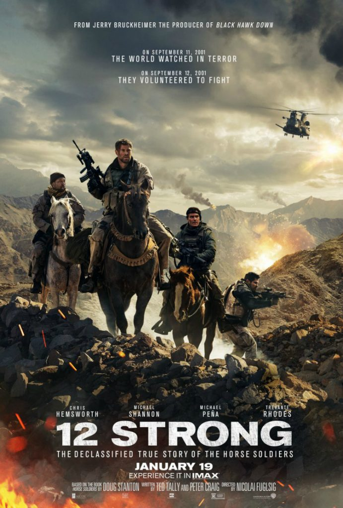 12 Strong Movie Horse Soldiers