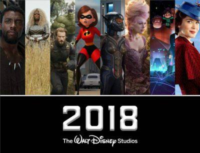 2018 Disney Movies Schedule