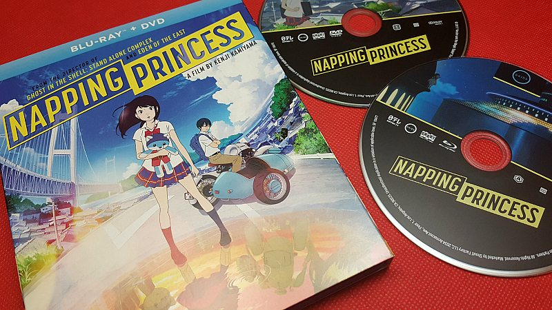 Napping Princess Anime Movie