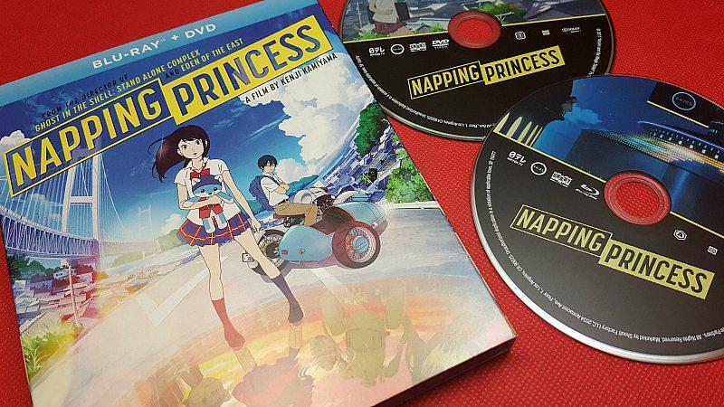 Napping Princess Anime Movie