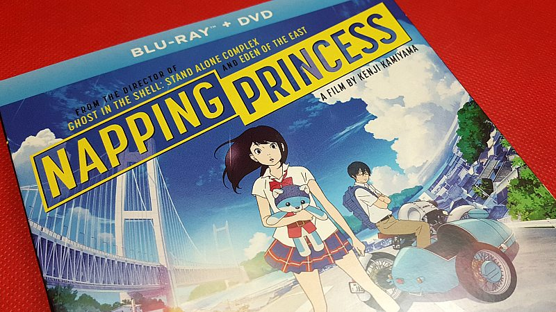 Napping Princess Blu Ray DVD Movie