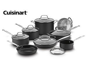 Cuisinart Giveaway – Chef's Cookware Set – Ends 6/29/18