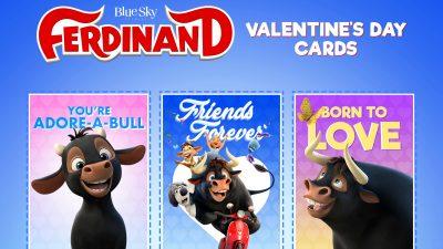 Free Ferdinand Valentine's Day Cards