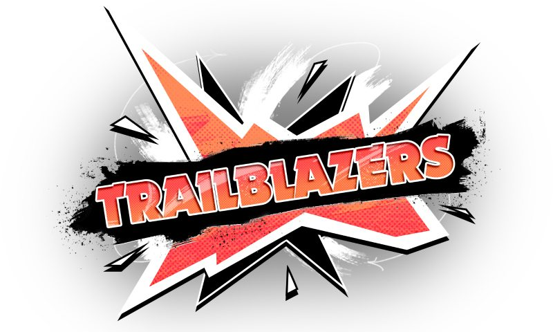 Trailblazers racing game logo