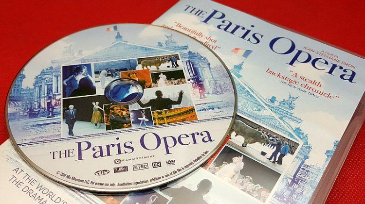 Paris Opera DVD – 5 Winners – Ends 3/8/18