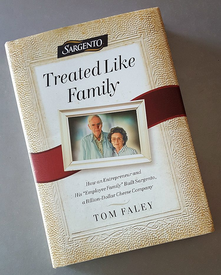 Sargento Book - Treated Like Family by Tom Faley