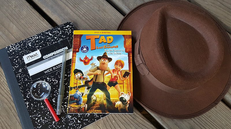 Tad the Lost Explorer DVD
