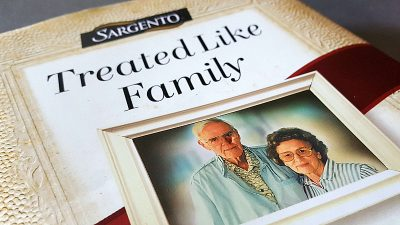 Sargento Book – Treated Like Family