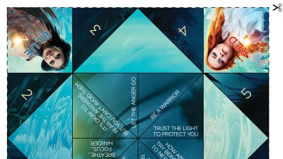 Wrinkle in Time Craft – Make a Fortune Teller