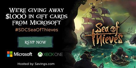 sea of thieves giveaway
