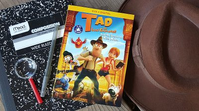 Tad The Lost Explorer DVD – Secret of King Midas