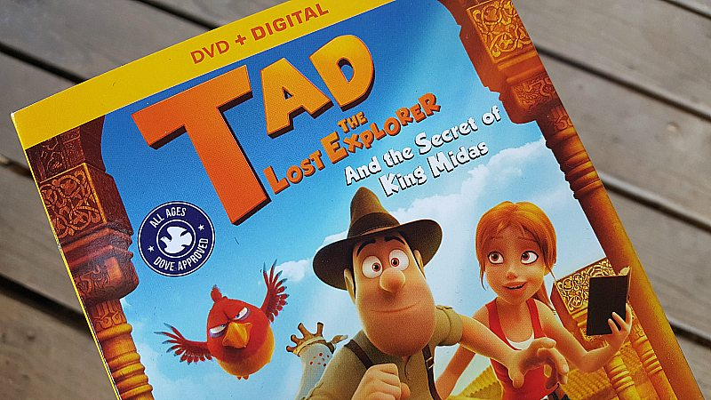 tad the lost explorer dvd digital