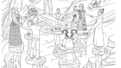 Free Wrinkle in Time Coloring Page - Disney Printable