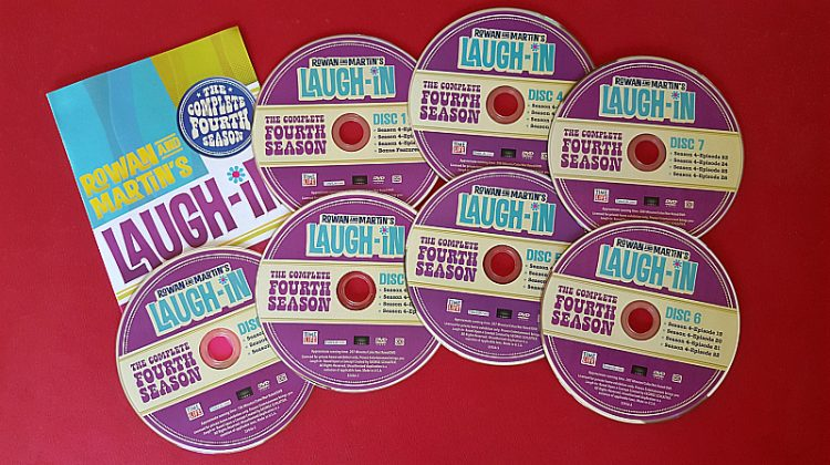Laugh In Season 4 DVD Set Giveaway – 5 Winners – Ends 5/15/18