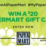 PaperMart Gift Card Giveaway