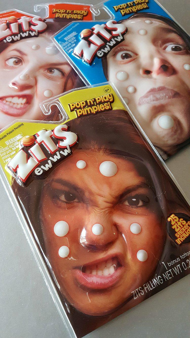 Zits Pop n Play Pimples - Fake Zits
