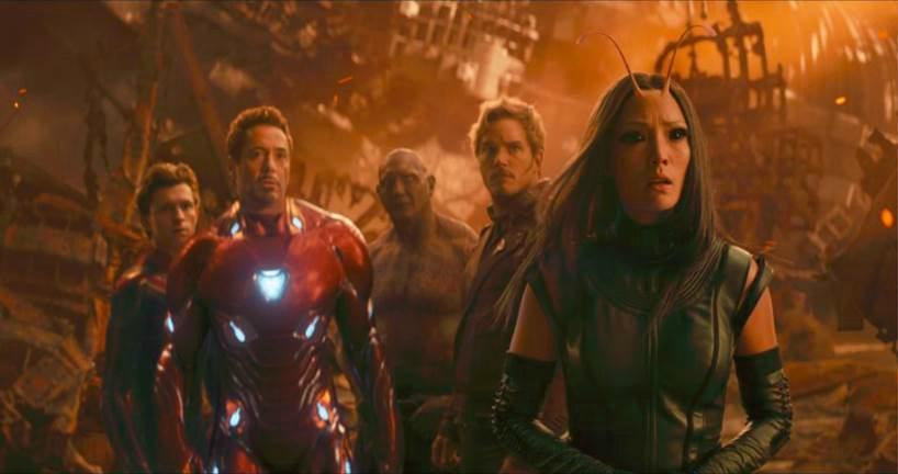 avengers infinity war marvel family universe