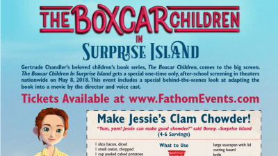 boxcar children recipe jessies clam chowder