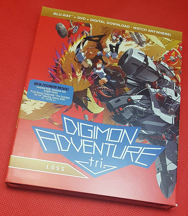 digimon adventure tri loss blu-ray dvd digital download