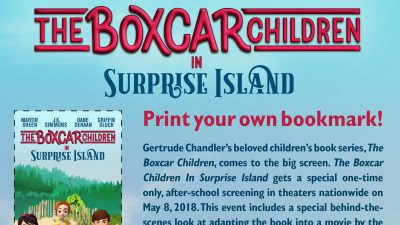 Boxcar Children Bookmark – Free Printable